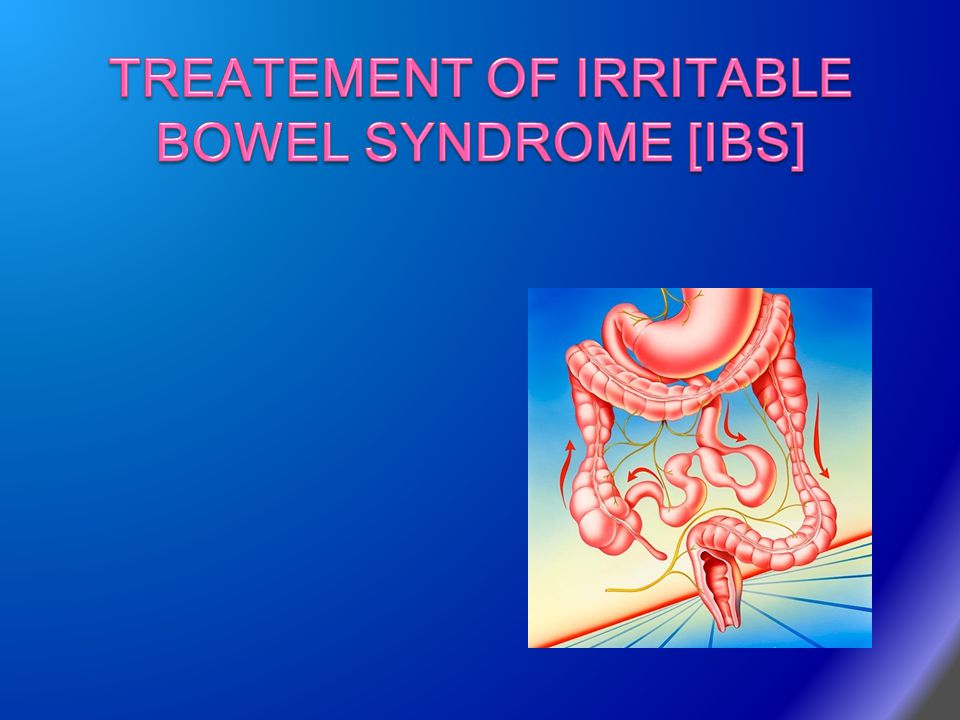TREATEMENT OF IRRITABLE BOWEL SYNDROME [IBS]